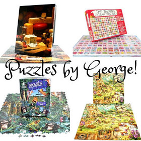 george loves puzzles with an intensity only a child with autism can muster his first puzzle completed at 8 months of age george sped through 1000 pc - Puzzle Muster